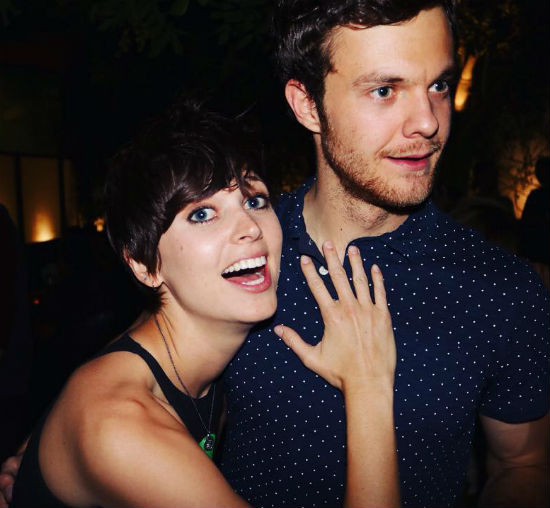 Jack Quaid with girlfriend Lizzy McGroder