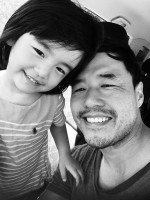 Jae Suh Park's husband Randall Park and daughter Ruby Park
