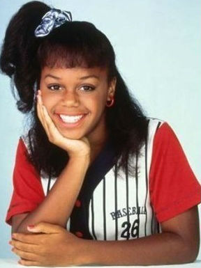 Jaimee Foxworth childhood photo