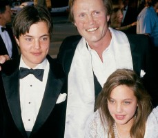 James Haven & Angelina jolie childhood photo with father Jon Voight