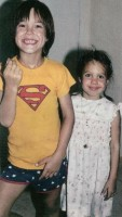 James Haven childhood pic with Angelina Jolie