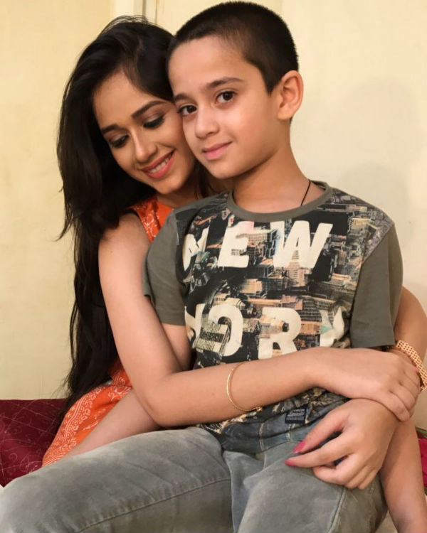 Jannat Zubair Rahmani with her brother Ayaan Zubair Rahmani