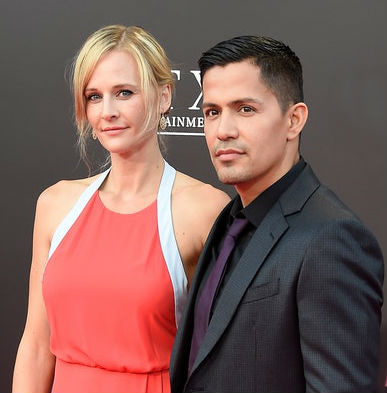 Jay Hernandez with wife Daniella Deutscher