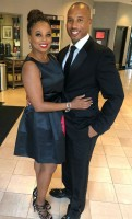 Jemele Hill with boyfriend H wood