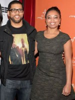 Jemele Hill with co-host Michael Smith