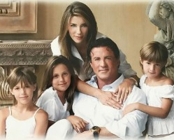 Jennifer Flavin family