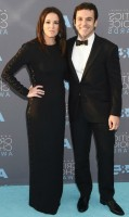 Jennifer Lynn Stone with husband Fred Savage