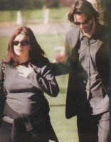Jennifer Syme with boyfriend Keanu Reeves