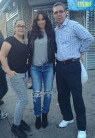 Jessica Caban with parents