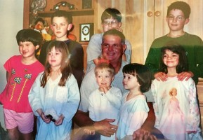 Jim Morris family children