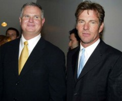Jim Morris with Dennis Quaid
