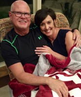 Jim Morris with wife Shawna Morris