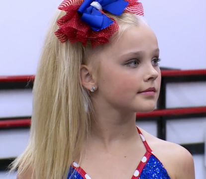 JoJo Siwa with her hair down