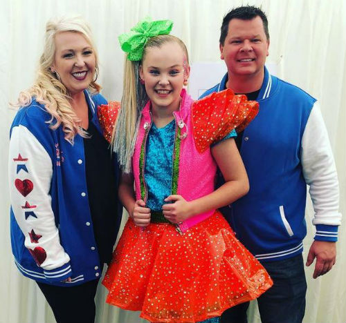 JoJo Siwa parents
