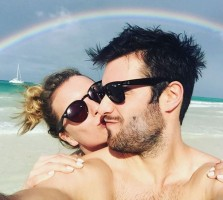 Josh Bowman with Emily Vancamp