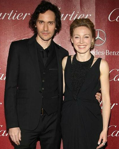 Juliet Rylance with husband Christian Camargo