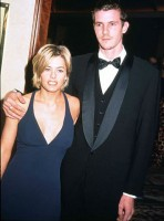 Justin Herwick with girlfriend Nicole Eggert