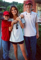 Kaitlan Collins with brothers- Brayden Collins & Cole Collins