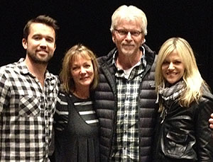 Photo of Kaitlin Olson  & her Father Mother  Donald & Melinda Olson