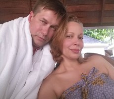 Kennya Baldwin & husband Stephen Baldwin
