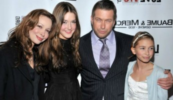 Kennya Baldwin's Family: daughters- Hailey, Alaia Baldwin, husband Stephen Baldwin