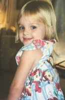 Kerris Dorsey childhood photo