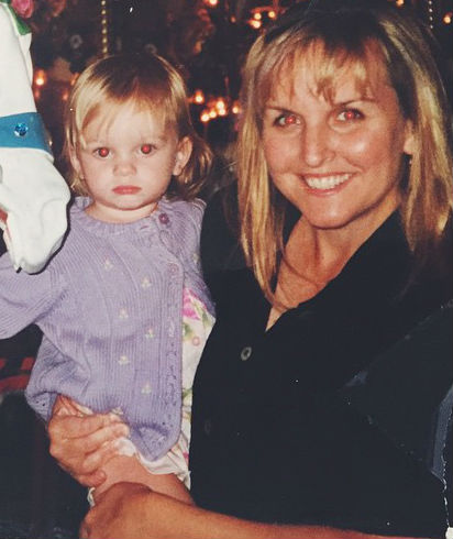 Kerris Dorsey with Mother