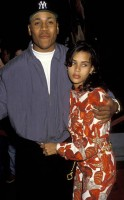 Kidada Jones with LL cool J