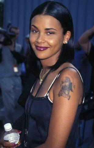 Kidada Jones' Tupac Shakur Tattoo