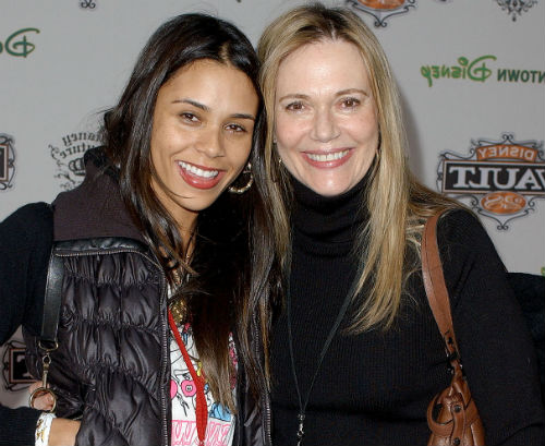 Kidada Jones with mother Peggy Lipton