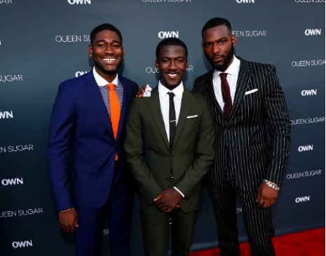 Kofi Siriboe with his brothers Kwame Boateng, Kwesi BoakyeKofi Siriboe with his brothers Kwame Boateng, Kwesi Boakye