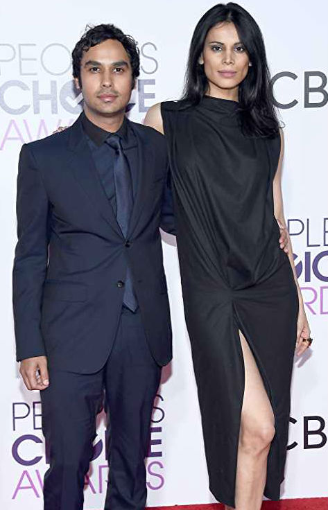 Kunal Nayyar with wife Neha Kapur