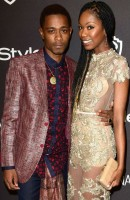 Lakeith Stanfield with girlfriend Xosha Roquemore