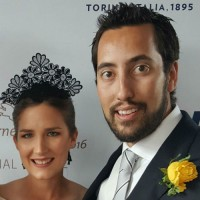 Laura Coles with boyfriend Nick Melanko