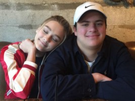 Lizzy Greene with Brother Garrett Greene