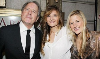 Louisa Gummer with Dad & sister Mamie
