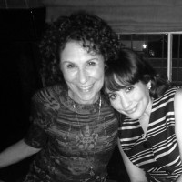 Lucy Chet DeVito with her mother Rhea Perlman