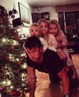 Luke Hemsworth's daughters- Holly, Ella, Harper