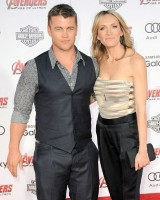 Luke Hemsworth & wife Samantha Hemsworth
