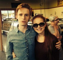 Madelaine Petsch's with brother Shaun Petsch
