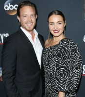 Matthew Alan with Girlfriend Camilla Luddington