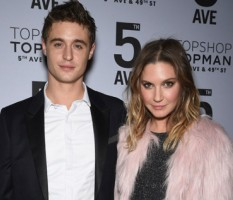 Max Irons with girlfriend Sophie Pera