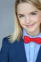 Mckenna Grace in suit