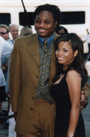 Michelle Thomas with boyfriend Malcolm-Jamal Warner