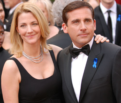 Nancy Carell & Steve Carell(husband)