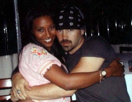 Nicole Narain with Colin Farrell