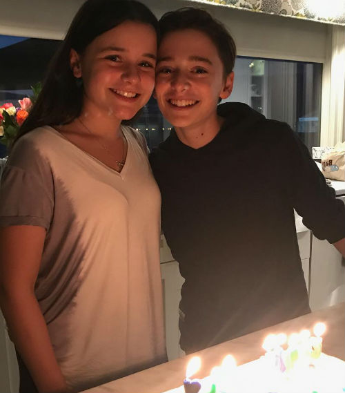 Noah Schnapp Bio With Age Height Sister Snapchat Family