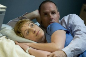 Paul Schulze in Nurse Jackie with Edie Falco