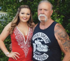 Paul Teutul Sr with stepdaughter Sammy Kay