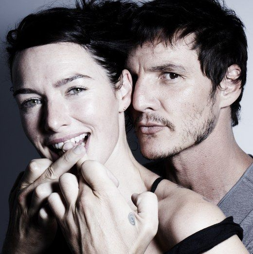 Pedro Pascal with Lena Headey